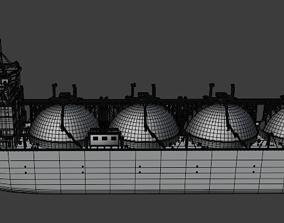 3D model Gas Tanker