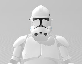 3D printable model Star Wars Clone Trooper Phase 2 Full