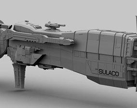 3D USS SULACO