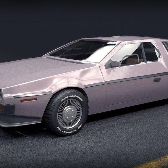 DeLorean DMC Back To The Future