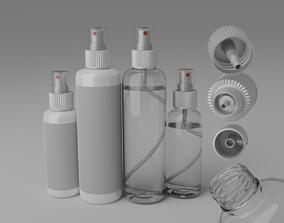 3D spray bottle water