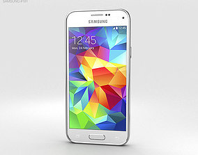 3D model Samsung Galaxy S5 mini Shimmery White