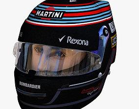 3D asset Stroll helmet 2018