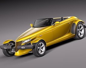 3D Plymouth Prowler stock 1997-2002