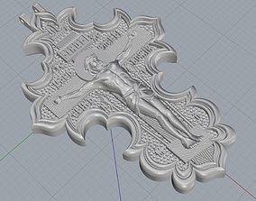 Saint cross 3D print model
