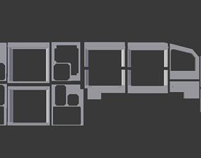 Airbus A320 MIP Panels Ready to 3d Print hobby-diy