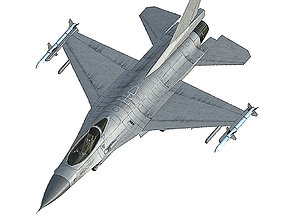 3D model F16 Fighter