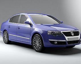 3D model Volkswagen Passat B6