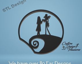 3D printable model NIghtmare Before Christmas - Jack and 2