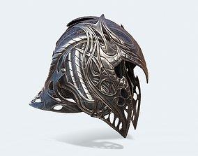 3D asset Krypton Helmet