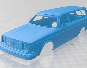 Volvo 245 Wagon 1975 Printable Body Car