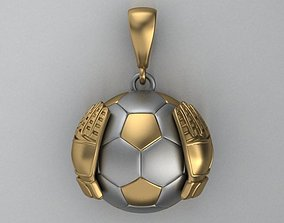 goalkeeper pendant 3D print model