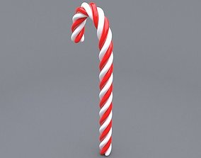 sweet 3D candy cane