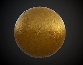 3D Metal Rusted Decay Seamless PBR Texture