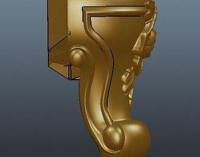 outdoor 3D printable model leg for cnc
