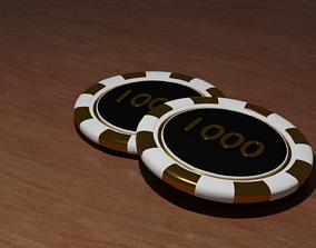 Poker Chip 3D