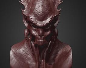 Daemon Bust 5 3D printable model