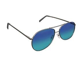 Sun glasses 04 3D model