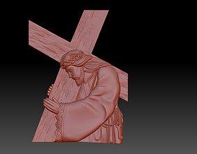 Jesus Carrying The Cross 3D printable model