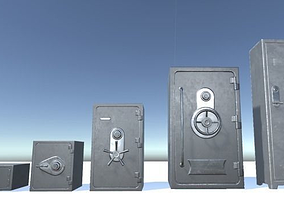 3D asset Safe super Pack