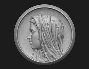 3D print model Madonna Medallion