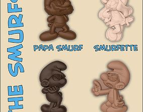3D print model THE SMURFS - MOLDS