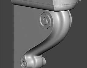 Bracket CFC02 - 3d model for CNC