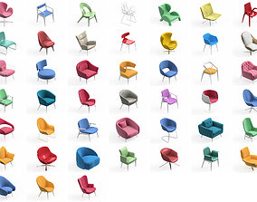 3D Armchair Modern Collection 45x