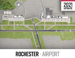 Rochester Airport 3D asset