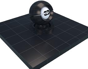 3D asset Navy floor tiles