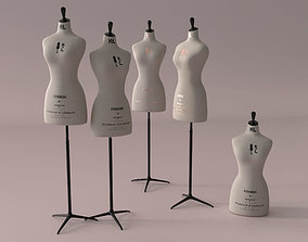 Mannequin Kenneth and Lidnsell manequin 3D