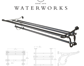 Etoile Metal Rack 3D model