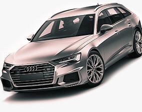 Audi A6 Avant 2019 s-line 3D