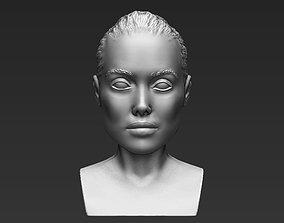Angelina Jolie bust 3D printing ready stl obj