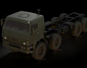 KamAz-6560 Low-poly 3D model realtime