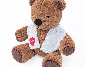 bear Teddy Bear 3D