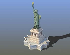 3D model realtime Statue of Liberty VR