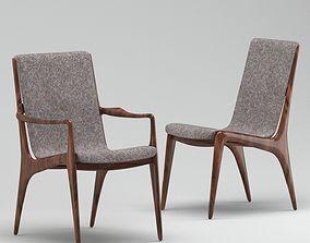 3D Kagan VK 102 Dining Chair Two Types