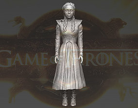 Daenerys Targaryen Game of Thrones 3D printing ready 1