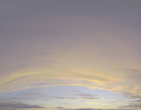 3D Skydome HDRI - Sunset Clouds