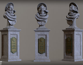 Haunted Mansion Bertie 3D Printable Bust DELUXE