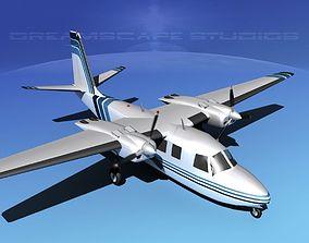 3D model Rockwell Aero Commander 560 V12