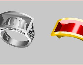 Men - Ring 3D printable model