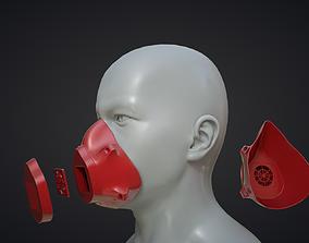3D Mask Print Ready STL