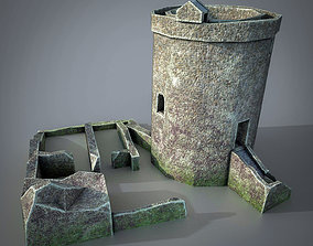 Orchardton Tower 3D model