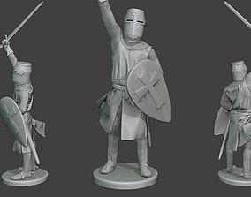 Knight Templar Victory T1 3D print model