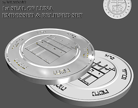 3D print model 1st Seal of Luna
