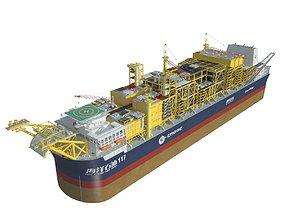 vessel 3D Cargo Ship