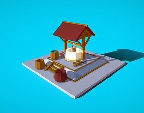 3D model HIE Well N1
