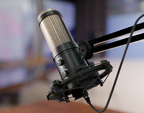 Condensed Microphone 3D model